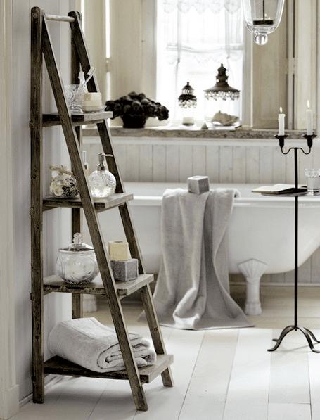 Arredamento per bagni in stile country