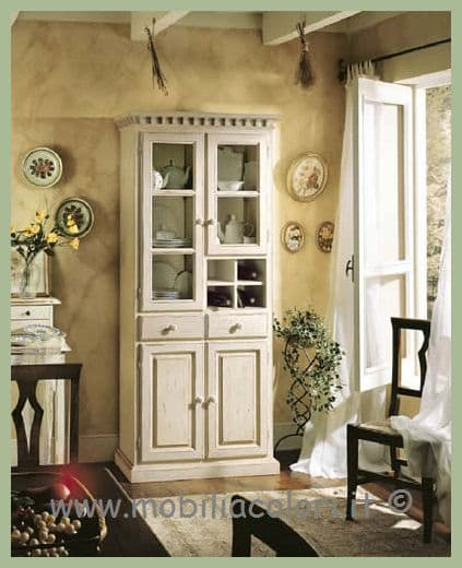 dispensa shabby chic