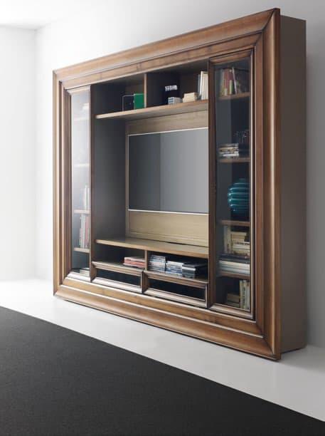 soggiorni con porta tv quadro con cornice