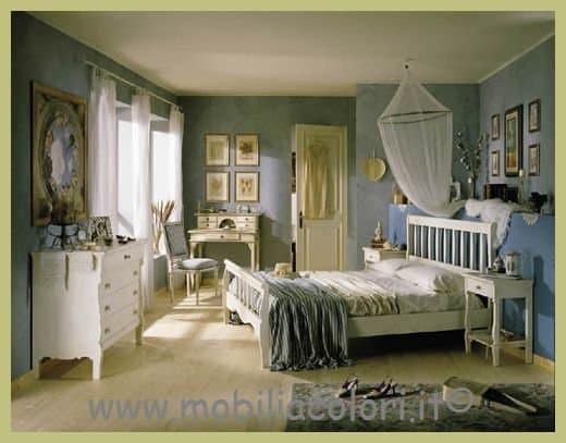 Consigli per il colore della tua camera da letto - Mobili country chic ...