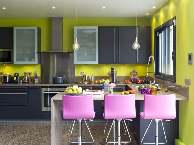 i colori della casa vanno scelti e abbinati con cura - mobili per passione