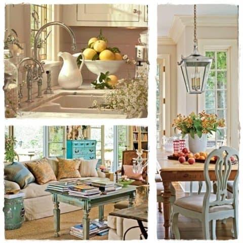 Se vuoi un ambiente romantico e familiare scegli lo stile provenzale