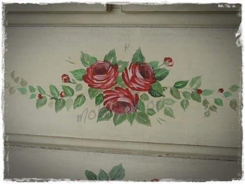 Mobili dipinti a mano decorare con il tuo stile - Decori per bagno ...