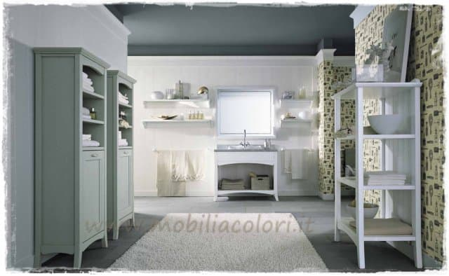 Il tuo bagno in stile feng shui for Mobili bagno stile shabby chic