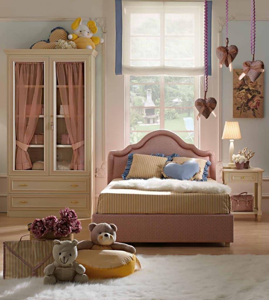 Camere Vintage Per Ragazze camerette classiche per bambine