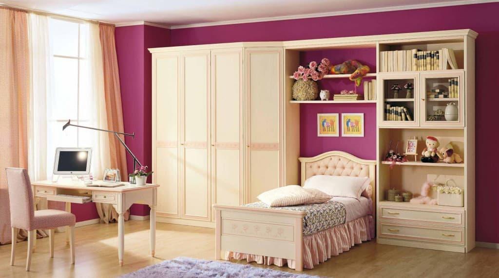 Camerette classiche per bambine for Ikea camerette ragazze
