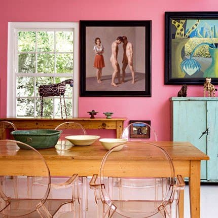 i colori nella sala da pranzo - mobili per passione