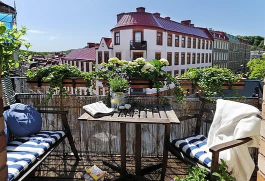 Scegliere lo stile per arredare il terrazzo - mobili per passione