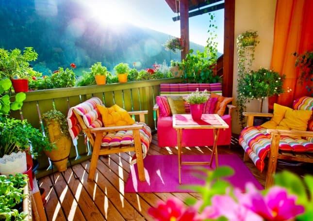 idee per arredare il terrazzo di casa - mobili per passione