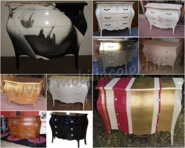 Idee e riciclo archivi mobili per passione - Colorare i mobili ...