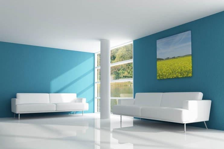 Pareti Colorate Di Azzurro : Arreda con i colori: le pareti colorate ...