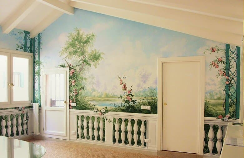Una idea nuova per le tue pareti il trompe l 39 oeil - Decorazioni per muri ...