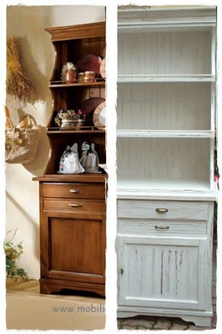 Rimodernare la cucina con il cambio di colore nuova vita - Dipingere mobili cucina ...