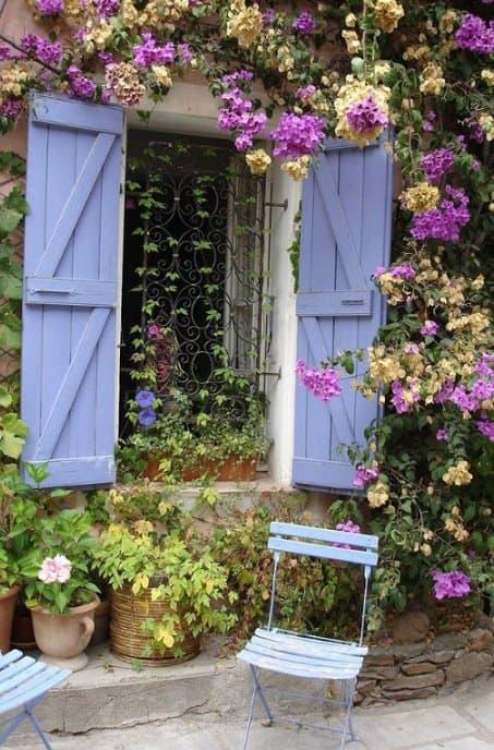 arredare giardino provenzale