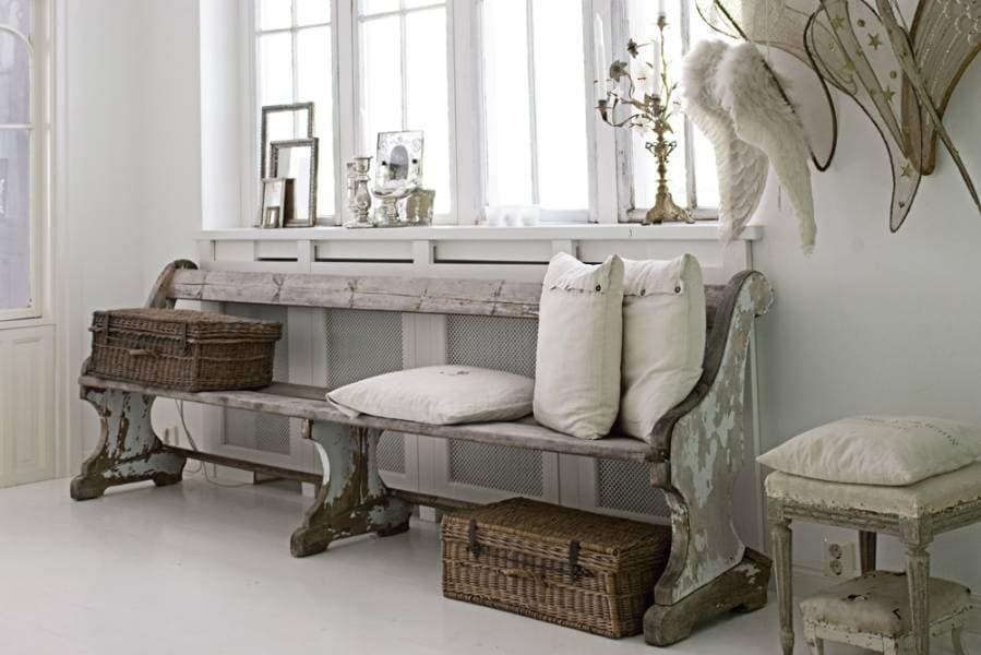 Ingresso di casa in stile country scegli bene i mobili i for Piani di casa in stile piantagione del sud