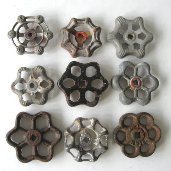 3 semplici passaggi per ricolorare vecchi pomelli - Mobili in ferro vintage ...