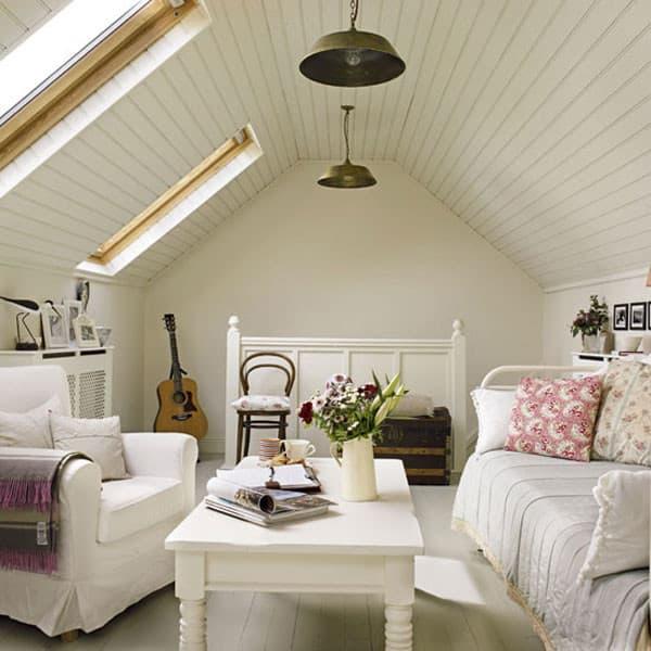 mansarde arredate : mobili in decap? ci suggeriscono la creazione di una bella mansarda ...