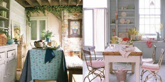 La provenza in tavola dolce alla lavanda gustato in una cucina provenzale - Arredamento casa provenzale ...