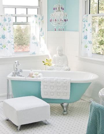 Un po di vintage nell arredo del bagno - Mobili bagno retro ...