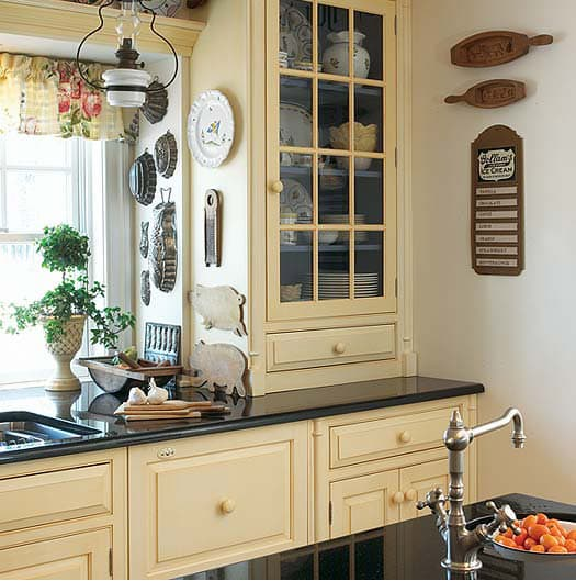 Grandi soluzioni per piccole cucine - Cucine provenzali francesi ...