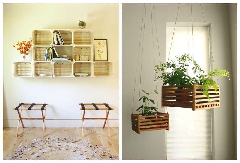 Materiale di recupero per l arredamento in casa - Mobili con legno di recupero ...