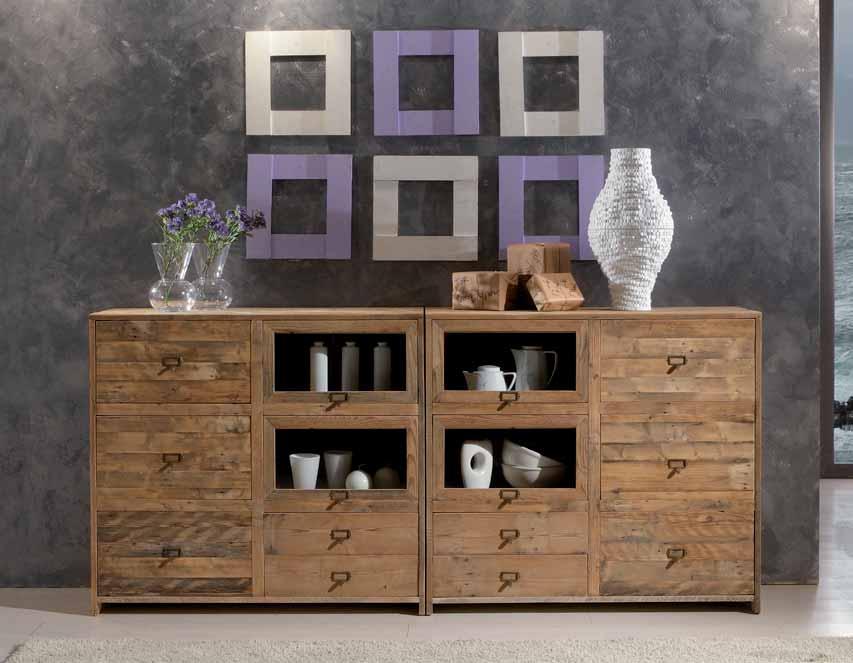 Credenza Rustica In Legno : Idee decorative in casa come sfruttare il legno
