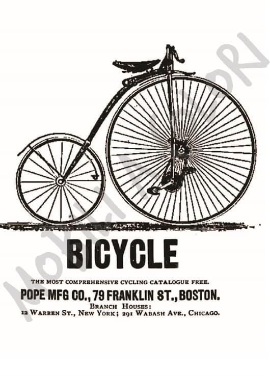 Bicicletta trasferimento immagine mobili per passione for Mobili per passione
