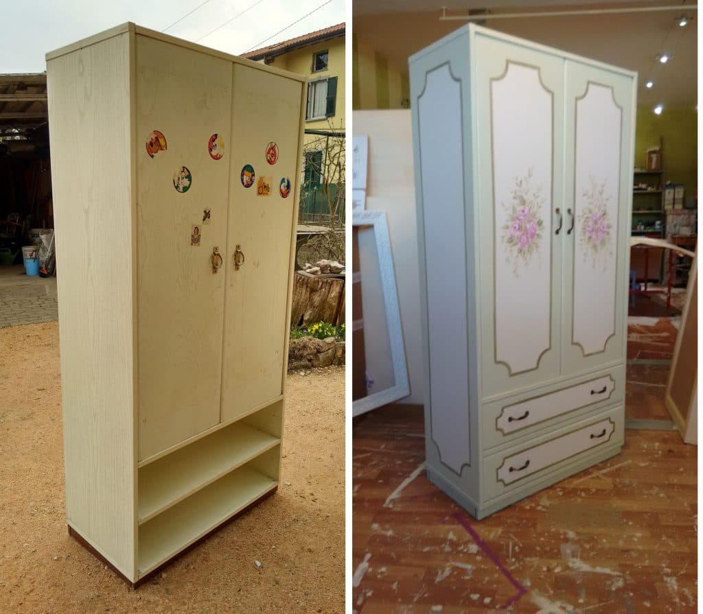 rinnova facilmente senza carteggiare con autentico chalk paint