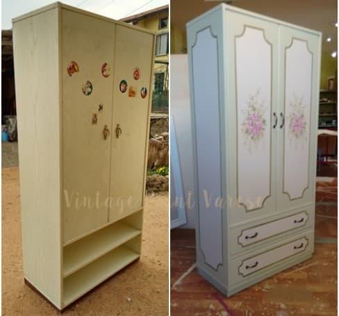 rinnovare mobili con la vintage paint