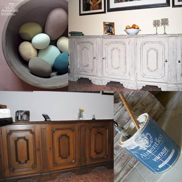 Creare mobili shabby con la chalk paint di autentico for Creare mobili