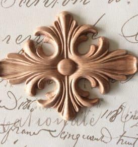 decoro croce croix in legno