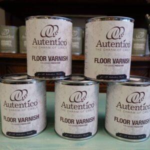 Autentico Floor Varnish - Protezione Finale
