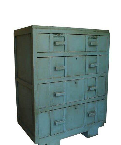 Vernice vintage autentico antique turquoise turchese for Vernice per mobili