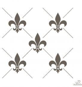 fleur-de-lys-composition