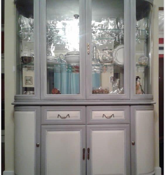 Vernice vintage autentico chalk grey grigio gesso - Vernice per mobili ...