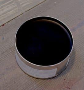 cera colore nero black
