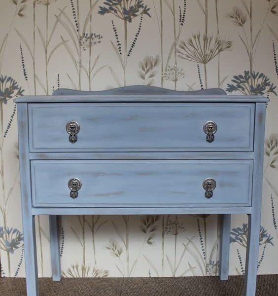 Vernice vintage autentico gers bleu mobili per passione - Vernice per mobili ...