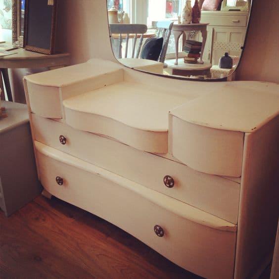 Vernice vintage autentico ivory avorio mobili per passione - Vernice per mobili ...