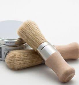 pennello per cere manico corto perfetto per chalk paint