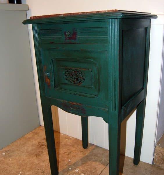 Vernice vintage autentico vert anglais verde inglese - Vernice per mobili ...