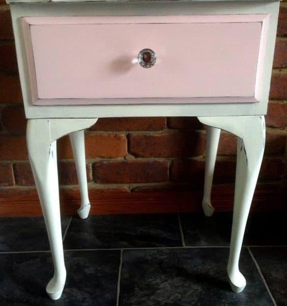 Vernice versante paint autentico pink mobili per passione - Vernice per mobili ...