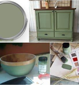autentico chalk paint vert olive