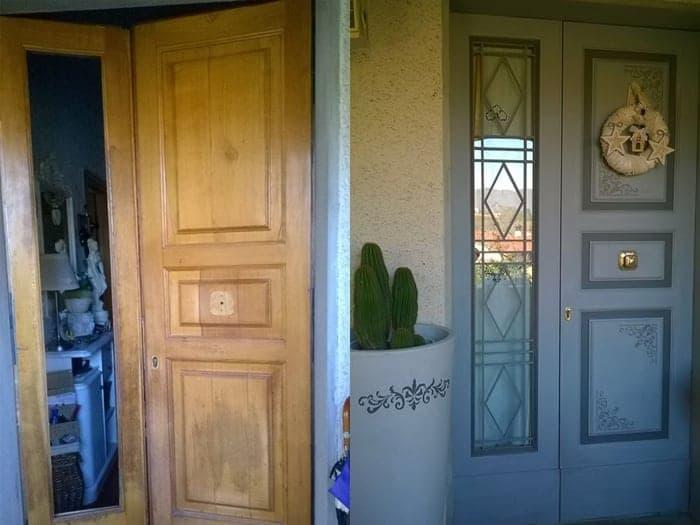 Scurire Mobili Impiallacciati : Rinnova le tue porte con autentico paint mobili per passione
