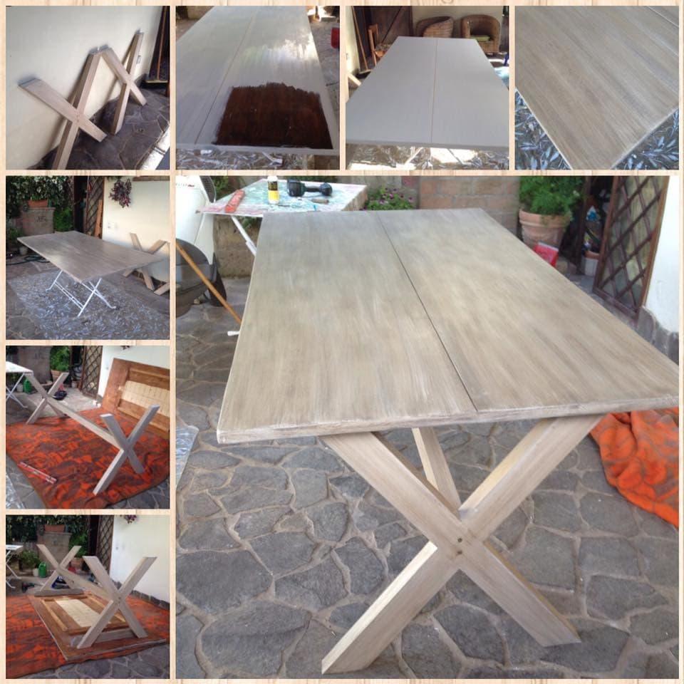 Verniciare Un Tavolo Di Legno come rinnovare i tuoi mobili da giardino - mobili per passione