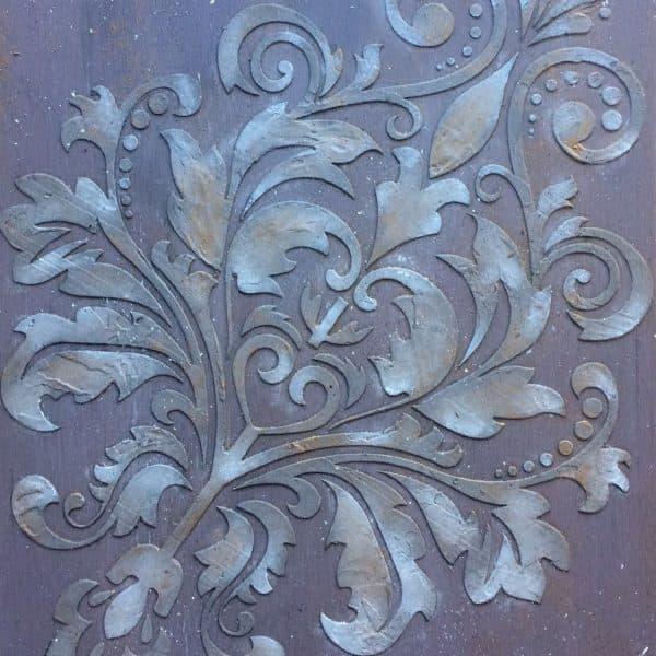 Terrapieno pasta 3d stencil a rilievo mobili per passione - Stampi per decorare pareti ...