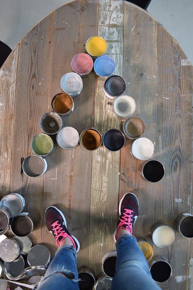 cere colorate alta qualità per proteggere chalk paint