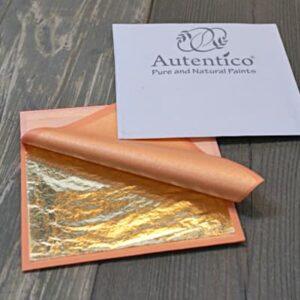 Autentico Foglia metallica e Applicazione