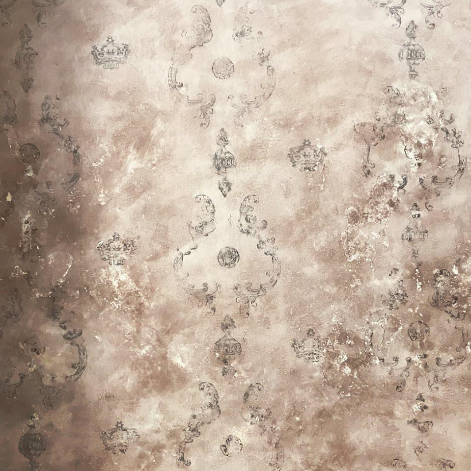 Pittura Effetto Intonaco Invecchiato pittura a calce autentico venice burnt sienna