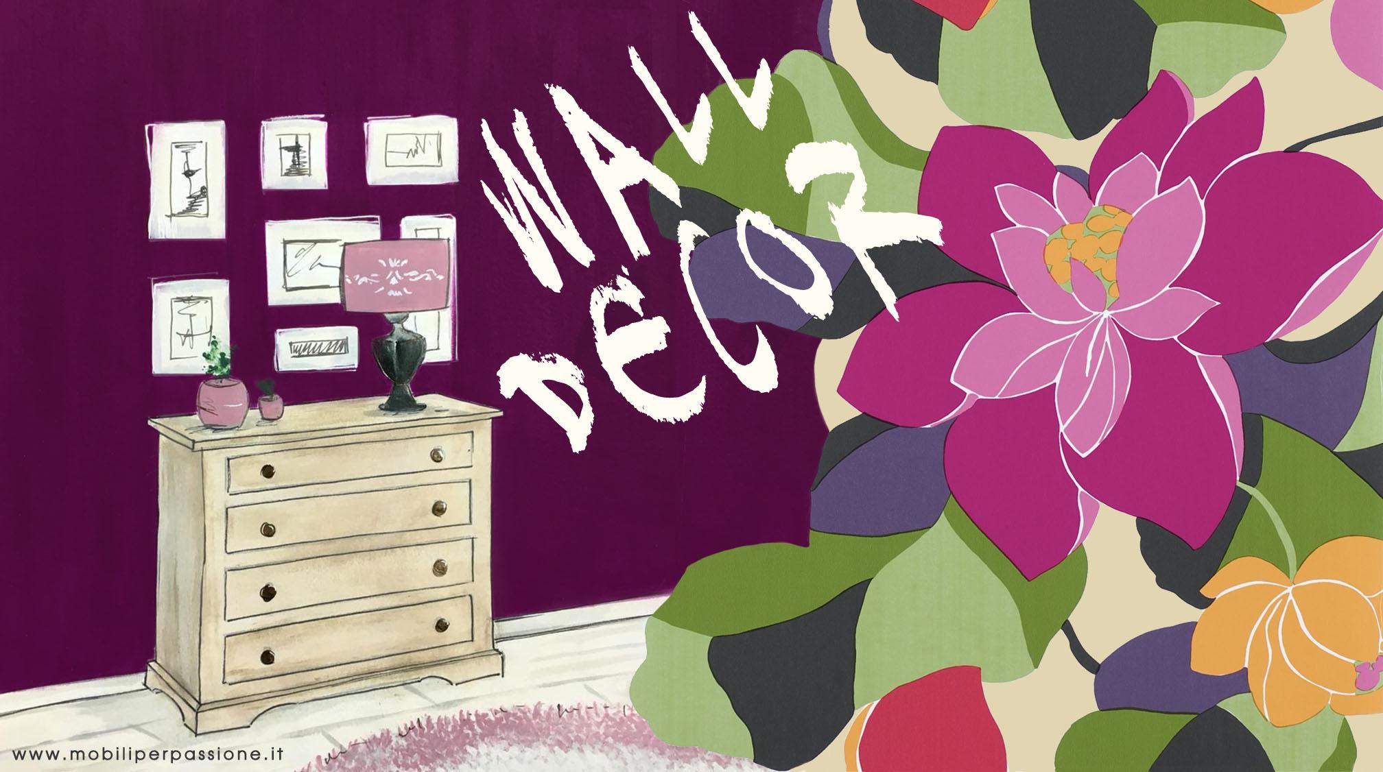 Come Decorare Una Parete perchè decorare una parete con autentico paint? - mobili per