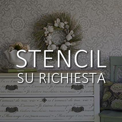 Stencil Bottega 315 Collection CREATI PER TE